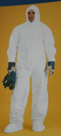 Microporous Polyolefin Fabric Coverall